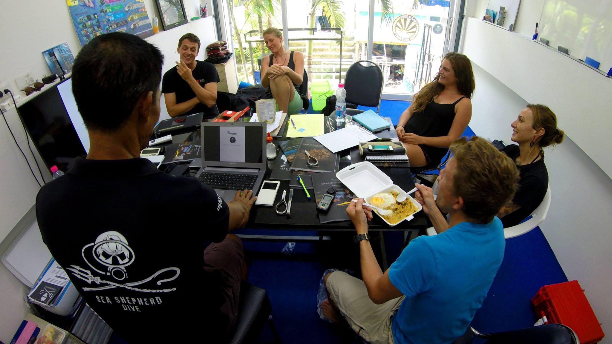 Coral Propagation Trainer Course